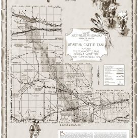 Western Cattle Trail in Southwestern Nebraska
