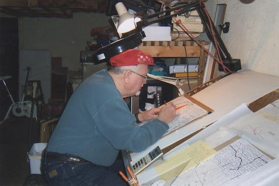 Gary Drawing Maps