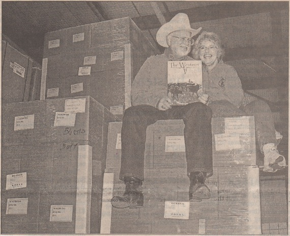 Gary And Margaret on Palettes of Books