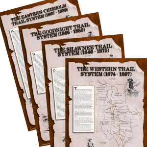 Western Cattle Trail Systems Set